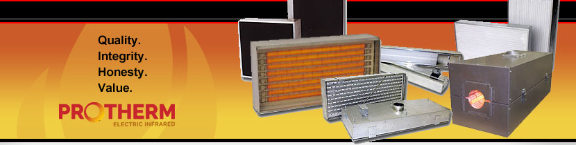 Process Thermal Dynamics Electric Infrared Heating Equipment Banner